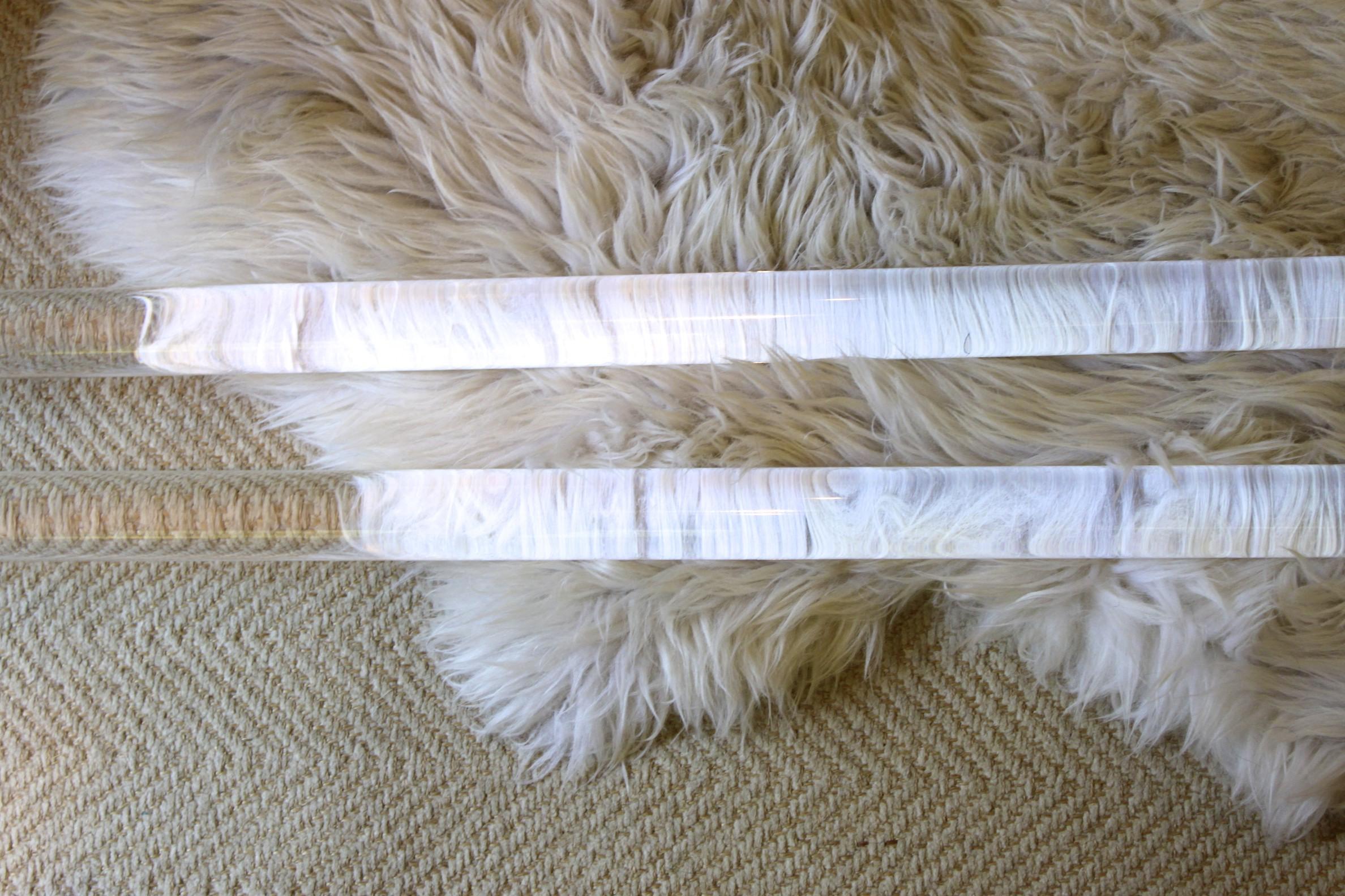 Acrylic curtain rod - Acrylic Curtain Rods