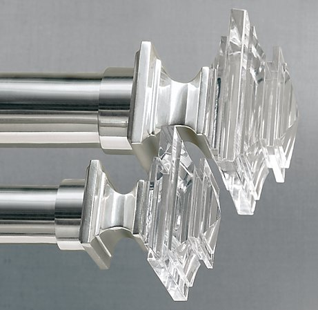 Restoration Hardware Estate Crystal Finials